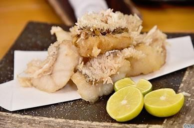 甘鯛の松かさ揚げレシピです。
